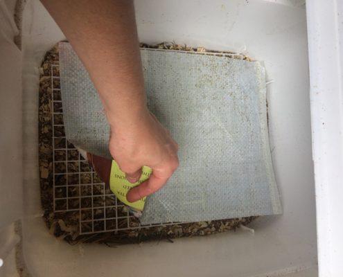 Permeable layer prevents lost little bones